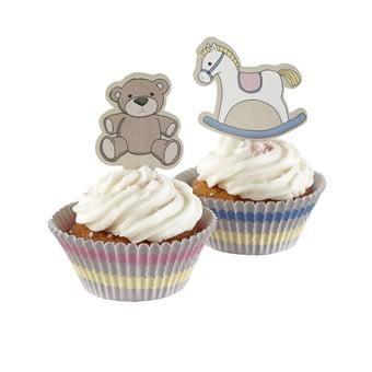 Rock-a-bye Baby - Cupcake Set