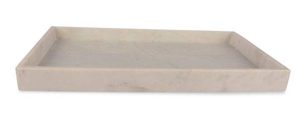 Senso Bricka Avlång Marmor 46 x 30 cm