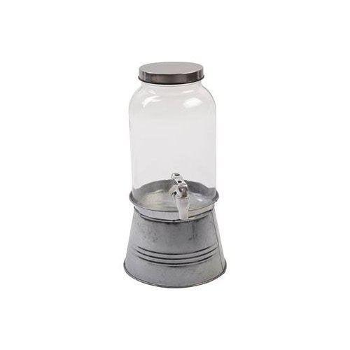 Senso Living Behållare med Tappkran 3,5 L zinkställning