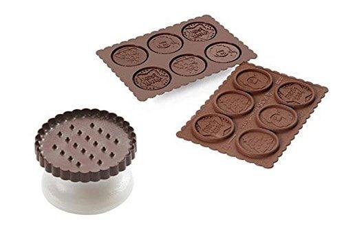 Silikomart Cookie Choc Utstickare Set