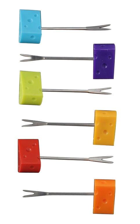 Dorre Ostset 6 delar Cheese Pickers