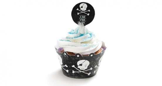 Decora Cupcake Wrappers & Toppers Pirater