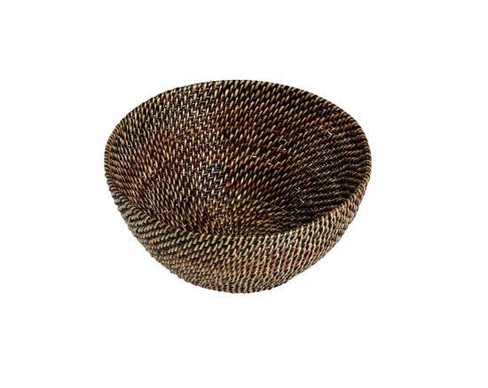 Bastian Brödkorg rund ljus/mörk brun - 20,5-21,5 cm