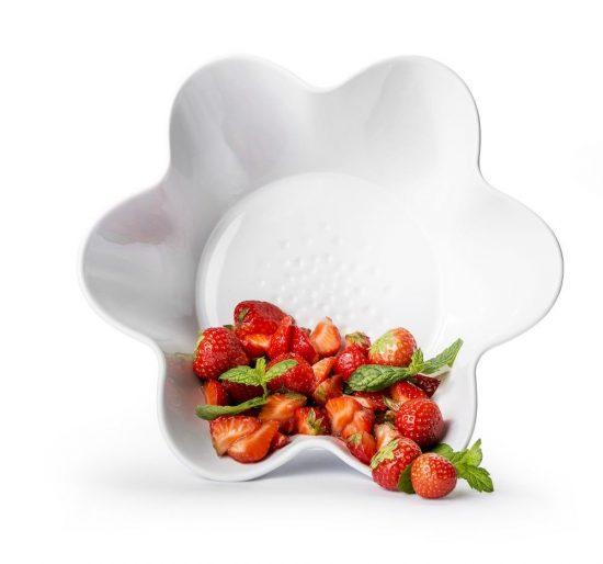 Sagaform Piccadilly skål ugnssäker vit 1,3 L