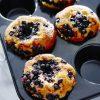 GastroMax Muffinsform 12 st Svart