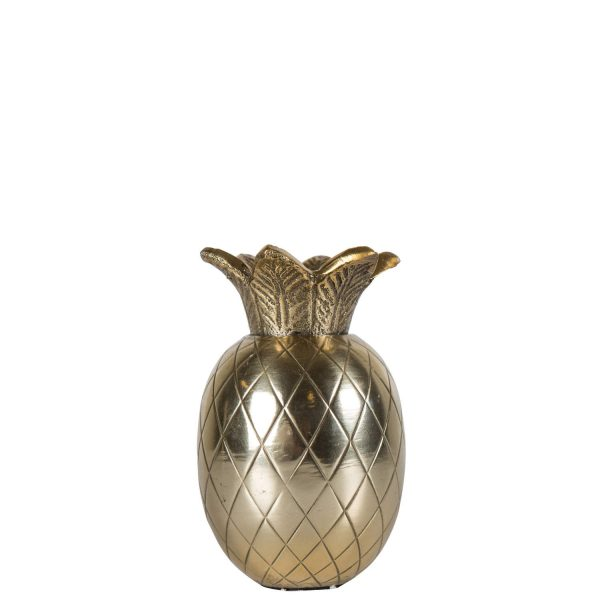 By ON Ljusstake Pineapple Gold 12 cm