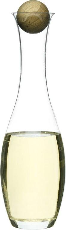 Sagaform Oval Oak Vin/Vattenkaraff 1 L