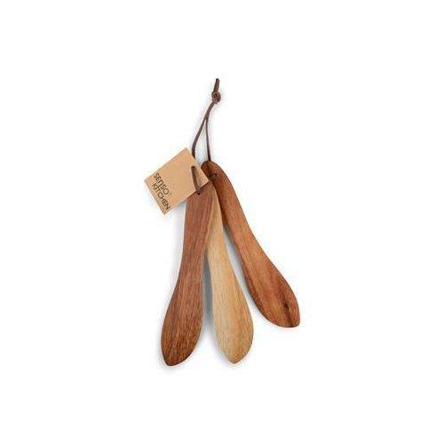 Senso Kitchen Smörkniv i trä, 3-pack
