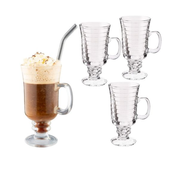 Dorre Irish Coffee Set Iona 4 pack