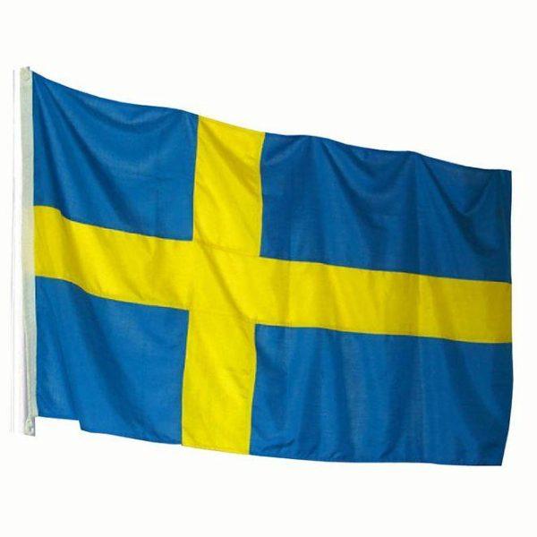 Flagga Sverige 125x200cm