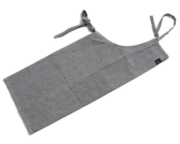 Pillivuyt förkläde grå 95x80 cm 100% Bomull
