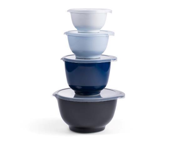 Rosti Mepal Margrethe skålar 8 delar Blå