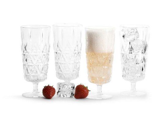 Sagaform Picknick glas hög 20 cl 4-pack