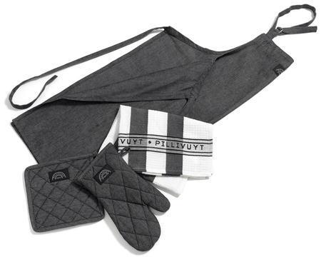 Pillivuyt textilset/gift set 6 delar