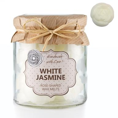 O.W.N Candles Doftvax Glasburk 18-p White Jasmine
