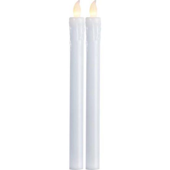 LED Antikljus 2-Pack 25cm