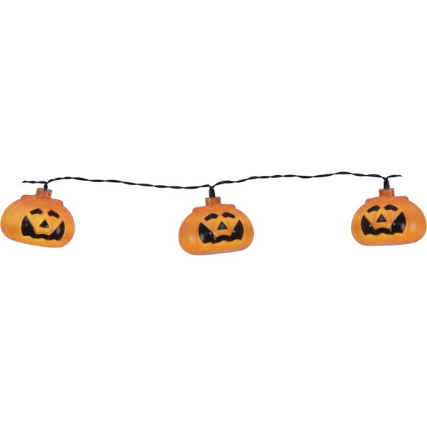 Ljusslinga Hallowen Pumpor 8 st