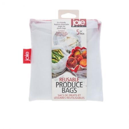 Frukt & Grönsakspåsar, återanvändningsbara 5st