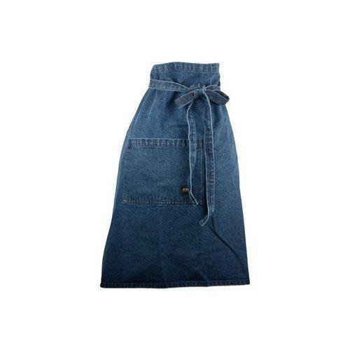 Kockförkläde jeanstyg 70x90 cm
