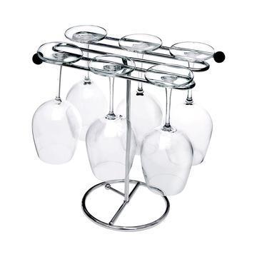 Diskställ för vinglas / dekant, ihopfällbar