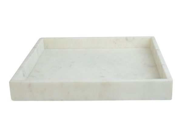 Senso Bricka Kvadrat Marmor