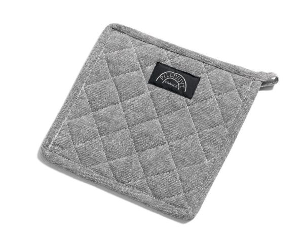 Pillivuyt grytlapp grå 22,5x22,5 cm 100% Bomull ny bomull
