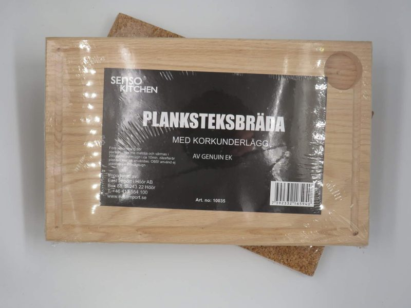 Planksteksbräda m Korkunderlägg Senso Kitchen