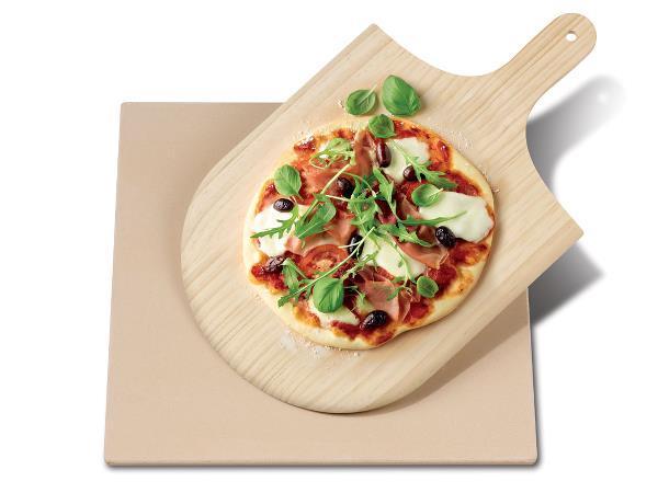 Pizzasten / Baksten m spade Funktion