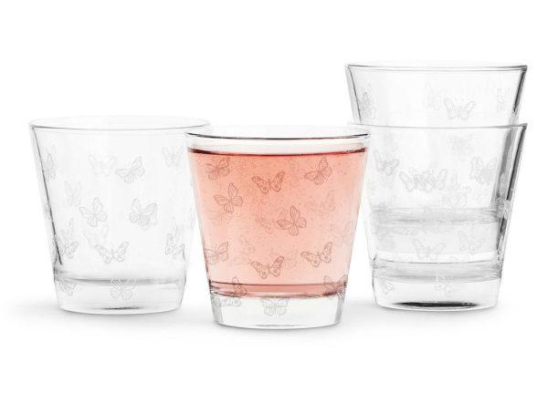 Butterfly glas 4-pack Sagaform