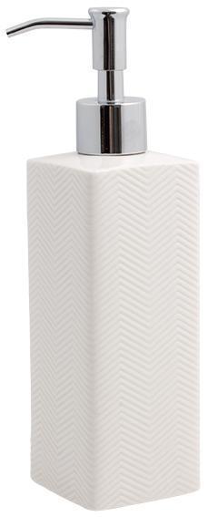 Tvålpump Kub Fischbone 21cm Cult Design