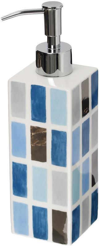 Tvålpump Kub Orient Blå/Silver Classic Cult Design