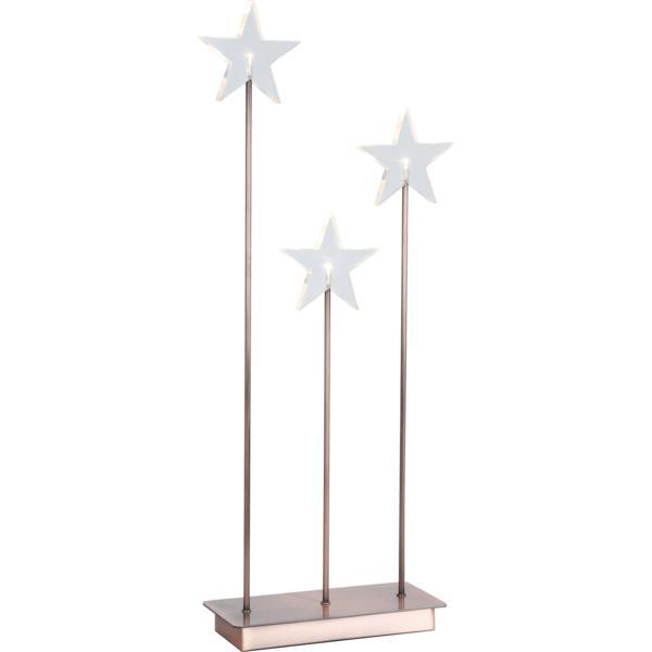 Ljusstake Karla 3 stjärnor