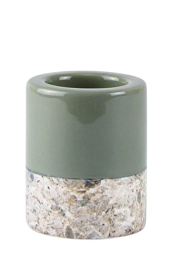 Ljusstake Dust Green KJ Collection