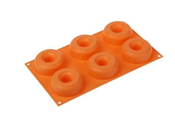 Donuts form 6 st Silikomart